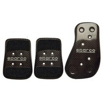 2002-2002 Lincoln Blackwood Sparco Pedal Kit - Carbon Fiber