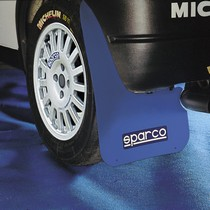 All ATVs (Universal), All Cars (Universal), All Jeeps (Universal), All Muscle Cars (Universal), All SUVs (Universal), All Trucks (Universal), All Vans (Universal) Sparco Mud Flaps (Blue)