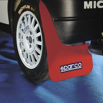All ATVs (Universal), All Cars (Universal), All Jeeps (Universal), All Muscle Cars (Universal), All SUVs (Universal), All Trucks (Universal), All Vans (Universal) Sparco Mud Flaps (Red)