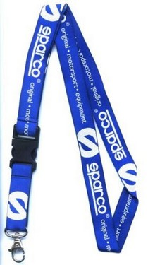 All ATVs (Universal), All Cars (Universal), All Jeeps (Universal), All Muscle Cars (Universal), All SUVs (Universal), All Trucks (Universal), All Vans (Universal) Sparco Lanyard