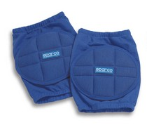 All ATVs (Universal), All Cars (Universal), All Jeeps (Universal), All Muscle Cars (Universal), All SUVs (Universal), All Trucks (Universal), All Vans (Universal) Sparco Knee Pads (Blue)