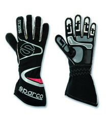 All ATVs (Universal), All Cars (Universal), All Jeeps (Universal), All Muscle Cars (Universal), All SUVs (Universal), All Trucks (Universal), All Vans (Universal) Sparco Arrow Kart Gloves - 07 (Black)