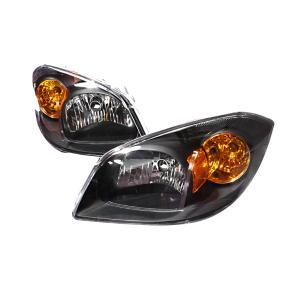 05 10 Chevrolet Cobalt Crystal Housing Headlights Black Spec D Euro