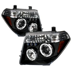 05 08 Nissan Pathfinder Halo Led Projector Black Frontier