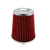 1980-1987 Audi 4000 Spec D Red Air Filter 2.50 Inch