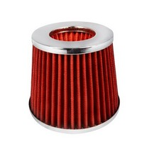 1980-1987 Audi 4000 Spec D Red Air Filter 3.00 Inch
