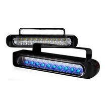 1987-1990 Mercury Tracer Spec D Universal Led Bumper Lights Clear