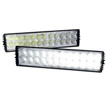 Universal (Truck, Jeep, SUV) Spec D LED Light Bars with Wiring (368x66x118mm)