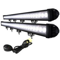 Universal (Truck, Jeep, SUV) Spec D LED Light Bars with Wiring (1208x66x91mm)