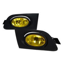 2001-2003 Honda Civic SPEC D OEM FOGLIGHTS YELLOW
