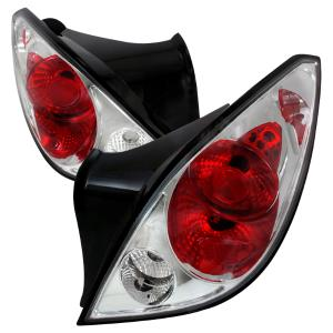 05 10 Pontiac G6 Altezza Tail Light Chrome 2 Door Spec D Lights