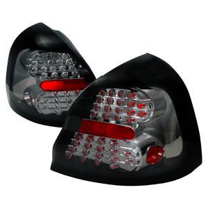 04 07 Pontiac Grand Prix Led Tail Lights Smoke Spec D