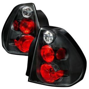 04 06 Chevrolet Malibu Altezza Tail Light Black Spec D Lights
