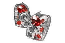 2001-2003 Mazda Protege Spec D Tail Lights - Chrome