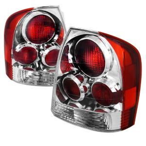 2001-2003 Mazda Protege Spec D Altezza Tail Lights - Chrome