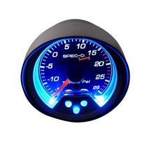 1998-2002 Lincoln Town_Car Spec D 2 Inch Boost Gauge