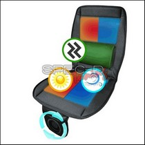 All Vehicles (Universal) Spec D 3-in-1 Seat Pad Powered by Fan (Cool - Heat - Massage)