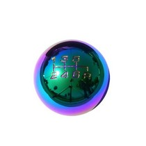 All Vehicles (Universal) Spec D 3100-Style 6 Speed Manual Shift Knob (Neo Chrome)