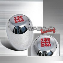 2009-9999 Toyota Venza Spec D Chrome Shift Knob For Toyota & Scion Screw On