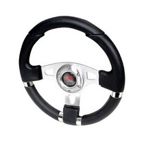 All Jeeps (Universal), All Vehicles (Universal) Spec D Momo RS Net Style Steering Wheel (Silver)