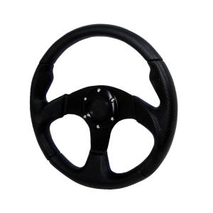 All Jeeps (Universal), All Vehicles (Universal) Spec D Type 2 Steering Wheel - 320mm (Black with Blue Stitching)