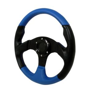All Jeeps (Universal), All Vehicles (Universal) Spec D Type 2 Steering Wheel - 320mm (Black/Blue)