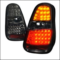 2002-2006 Mini Cooper Spec D LED Tail Lights - Smoke