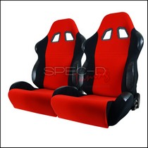 All Classic Muscle Cars (Universal), All Classic Volkswagens (Universal), All Full Size Trucks (Universal), All Jeeps (Universal), All Light Trucks (Universal), All Modern Muscle Cars (Universal), All Sports Compact Cars (Universal), All SUVs (Universal), All Vintage Cars (Universal) Spec D Bride Style Racing Seats - Red/Black