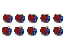 "1968-1969 Ford Torino Spectre Magna-Clamps 1/4"" & 5/16"" Refill - Red & Blue"