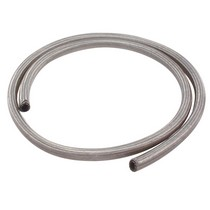 "1973-1978 Mercury Colony_Park Spectre Oil/Water Stainless Steel Flex Hose - 1/2"" X 6'"