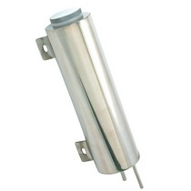 All Cars (Universal), All Jeeps (Universal), All Muscle Cars (Universal), All SUVs (Universal), All Trucks (Universal), All Vans (Universal) Spectre Stainless Steel Radiator Overflow Tank - 3