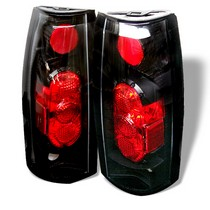 chevrolet c and k series truck tail lights at andy s auto sport 92 99 chevrolet suburban 94 99 chevrolet tahoe 99 00 gmc · spyder altezza g2 tail lights