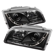 97-03 Volvo S40 Spyder Auto LED Projector Headlights - Black
