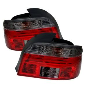 1997-2003 BMW 5_Series Spyder Tail Lights - Red/Smoke