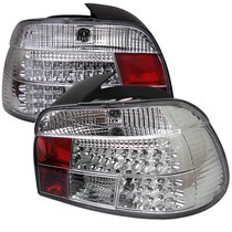 1997-2003 BMW 5_Series Spyder LED Tail Lights - Chrome