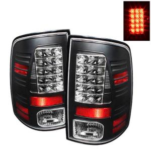 2009-9999 Dodge Ram Spyder LED Tail Lights - Black