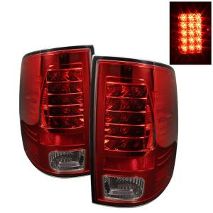 2009-9999 Dodge Ram Spyder LED Tail Lights - Red Smoke