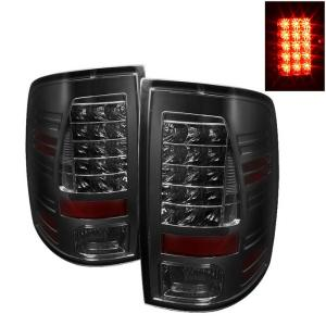 2009-9999 Dodge Ram Spyder LED Tail Lights - Smoke