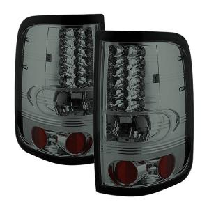 2004-2008 Ford F150 Spyder LED Tail Lights - Smoke