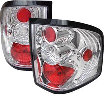 2004-2008 Ford F150 Spyder Altezza Tail Lights - Chrome
