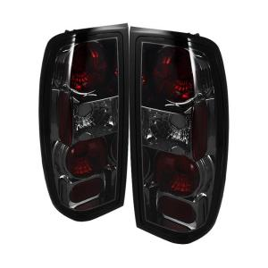 98 00 Nissan Frontier Spyder Altezza Tail Lights Smoke