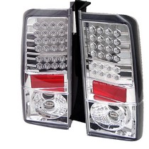 2004-2007 Scion Xb Spyder LED Tail Lights - Chrome