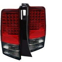 2004-2007 Scion Xb Spyder LED Tail Lights - Red/Smoke