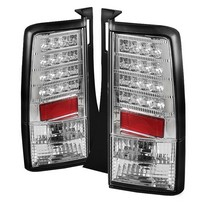 2004-2007 Scion Xb Spyder LED Tail Lights (Chrome)