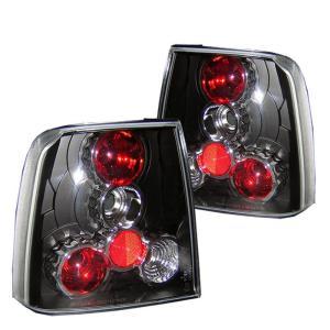97 00 Volkswagen Pat Spyder Altezza Tail Lights Black