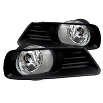 07-09 Toyota Camry Spyder Auto Fog Lights - OEM (Clear)