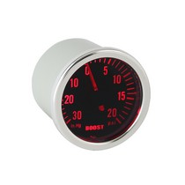 1995-1997 Lincoln Continental Spyder Auto Boost Gauge 7 Color Display - Smoke