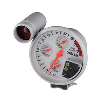 "1992-2000 Mercedes S-Class Spyder Xtune 5"" 4 In 1 Tachometer Red LED - White"