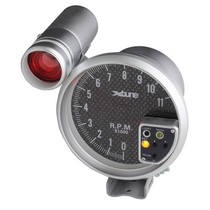 1992-2000 Mercedes S-Class Spyder Auto X-Tune 5 Inch Tachometer 7 Color - Paint Carbon 8108B7