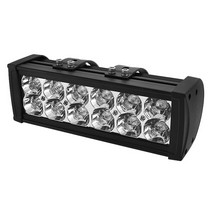 2000-2006 Chevrolet Tahoe Spyder Aluminum Lights Bar - 10-Inch (Black)